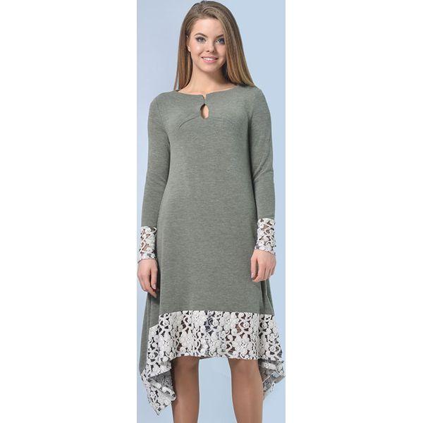 7e80cc9160 Sukienka w kolorze szarym - Szare sukienki damskie marki Lila Kass ...