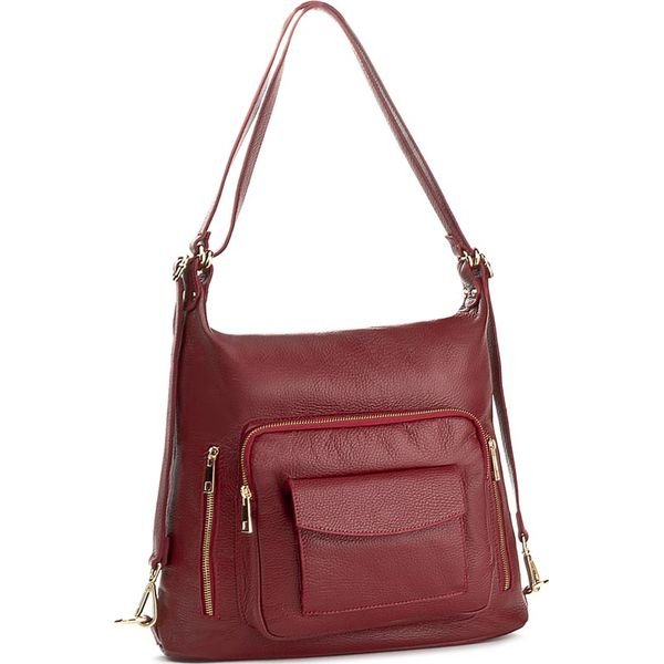 f5ba89edf48fb Plecak CREOLE - K10412 Dolaro C. Czerwony - Plecaki damskie marki ...