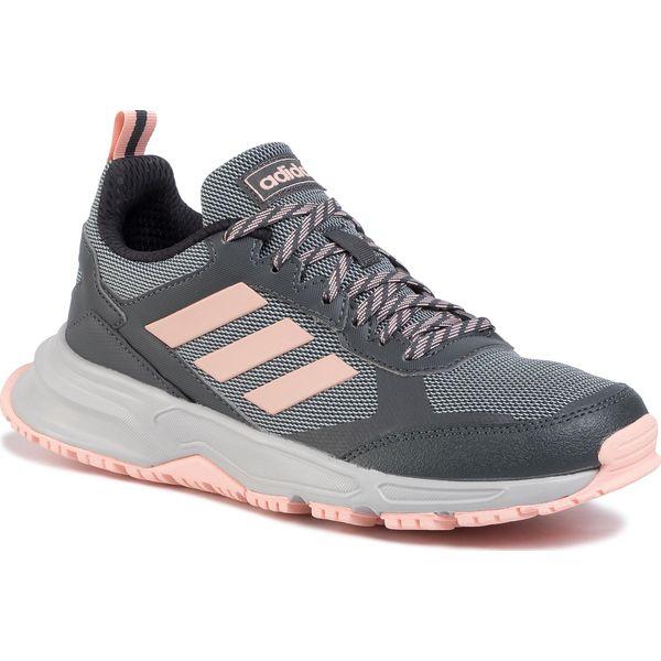 Buty sportowe damskie Adidas ze skóry ekologicznej