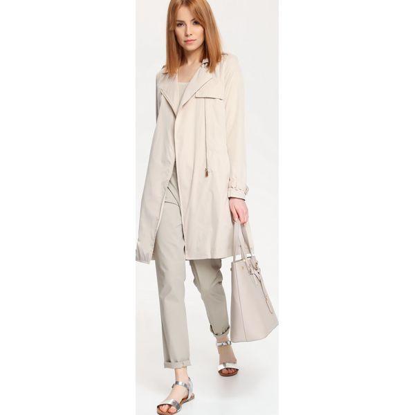 fe21074dceafb Brązowa odzież damska ze sklepu Top Secret w wyprzedaży - Kolekcja zima  2019 - Sklep Super Express