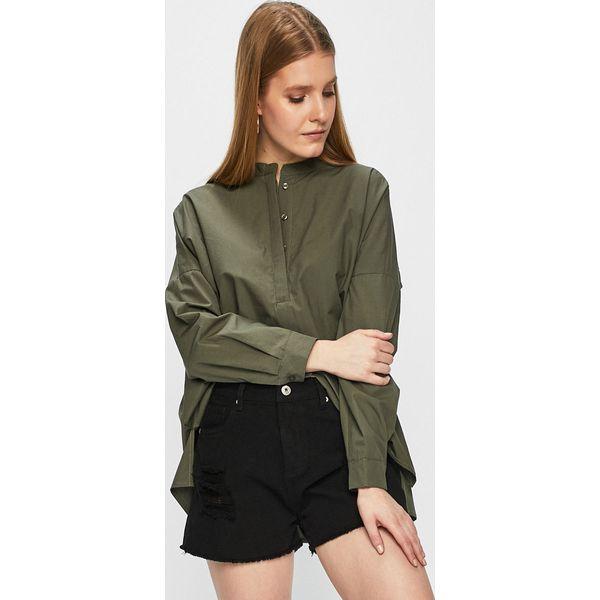 79c5a374b801a0 Answear - Bluzka - Czarne bluzki damskie ANSWEAR, m, bez wzorów, z ...