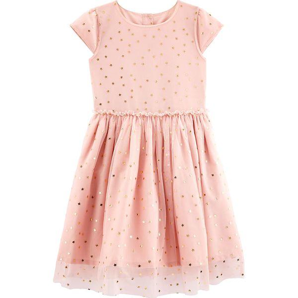 f0d6f34768 Sukienka w kolorze jasnoróżowym - Sukienki dziewczęce marki Carter ...
