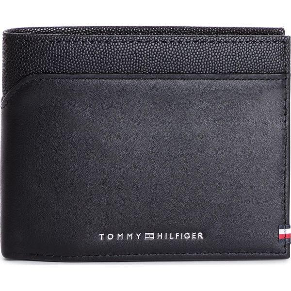51b387041a075 Duży Portfel Męski TOMMY HILFIGER - Bi-Material Cc Flap And Coin ...