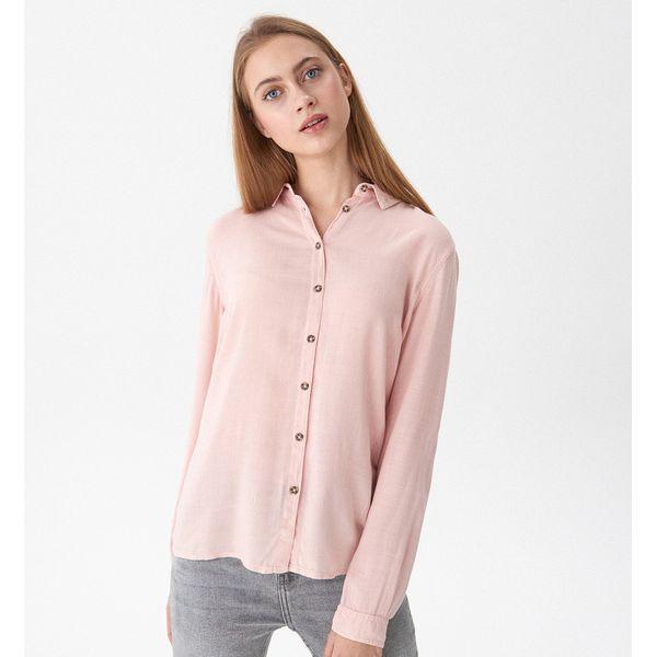 b2a39091294719 Koszula basic - Różowy - Koszule damskie House. W wyprzedaży za ...