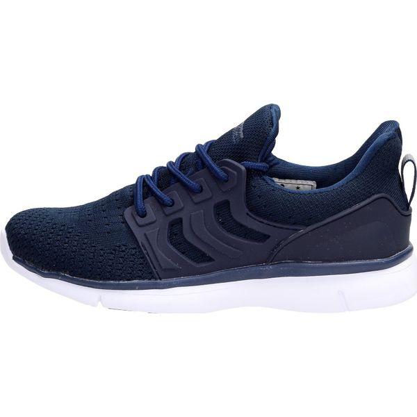 5f43bf1d Sportowe buty damskie AMERICAN CLUB FH07/19 NV - Niebieskie buty sportowe  na co dzień damskie marki American CLUB, bez wzorów. W wyprzedaży za 119.00  zł.