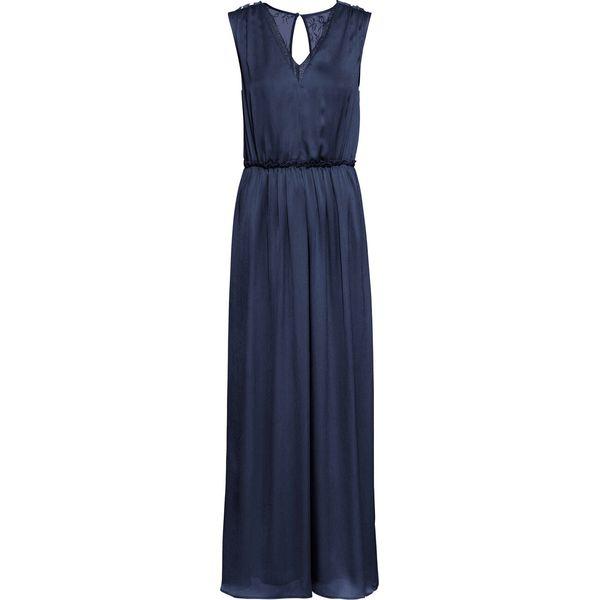 25359b7552 Sukienka wieczorowa z koronką bonprix ciemnoniebieski - Sukienki ...