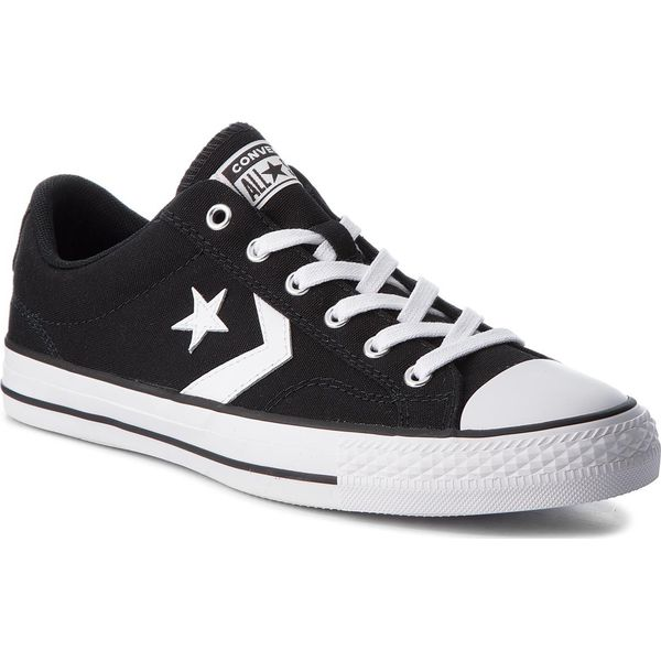d527b38d7cb87 Trampki CONVERSE - Star Player Ox 161595C Black/White/White ...
