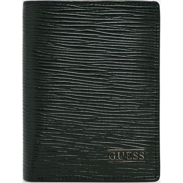 836e71a8dd9e9 Guess Jeans - Portfel skórzany - Portfele męskie marki Guess Jeans. W  wyprzedaży za 239.90 zł. - Portfele męskie - Akcesoria męskie - Mężczyzna -  Sklep ...