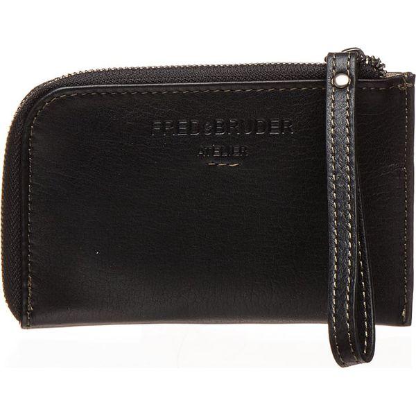 abb488e28f1b2 Skórzany portfel w kolorze czarnym - 14 x 9 x 1 cm - Portfele damskie marki  FREDsBRUDER. W wyprzedaży za 55.95 zł. - Portfele damskie - Akcesoria  damskie ...