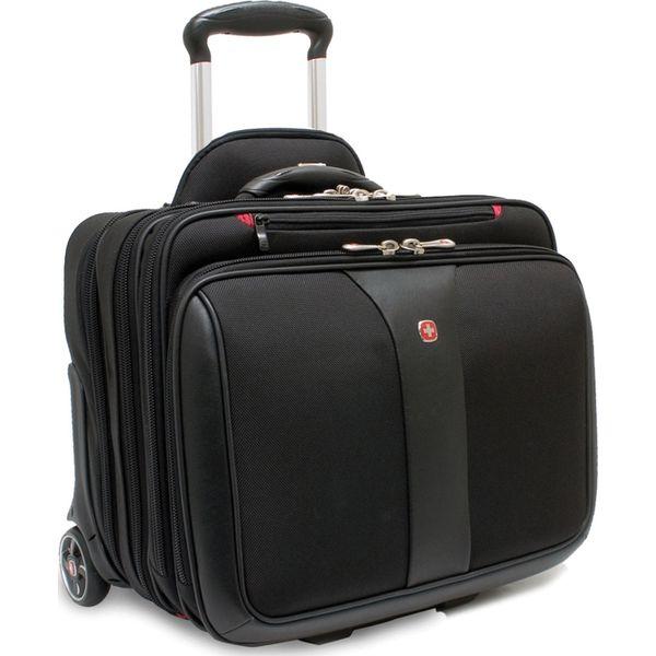 39556174e6236 Torba Wenger walizka + torba do laptopa PATRIOT czarna 17