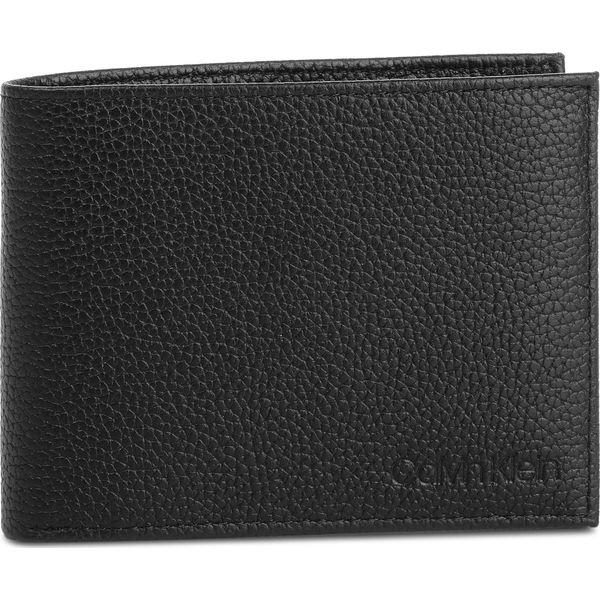 3182707a6c191 Duży Portfel Męski CALVIN KLEIN - Essential Leather 5Cc Coin ...