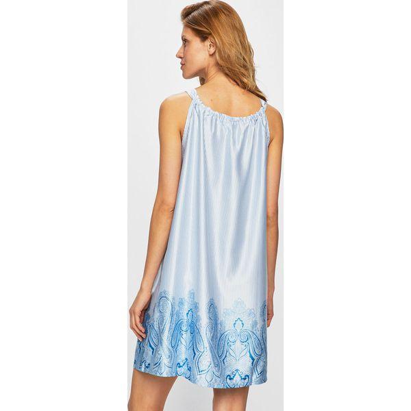 58fbb1bf0 Lauren Ralph Lauren - Koszula nocna - Niebieskie koszule nocne ...