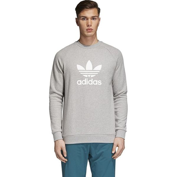 164178448 Adidas Bluza męska Originals Trefoil Crew szara r. M (CY4573 ...
