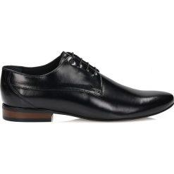 7d4596baad3aa Czarne półbuty wizytowe. Czarne buty wizytowe męskie marki Kazar, ze skóry.  Za 429.00