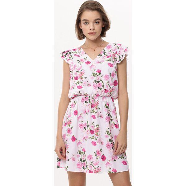 4a87f22796 Biało-Różowa Sukienka My Experience - Sukienki damskie marki Born2be ...