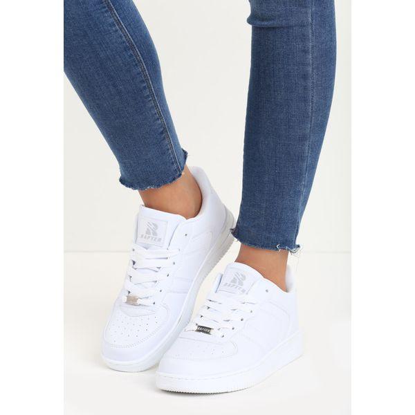 bia łe damskie buty sportowe