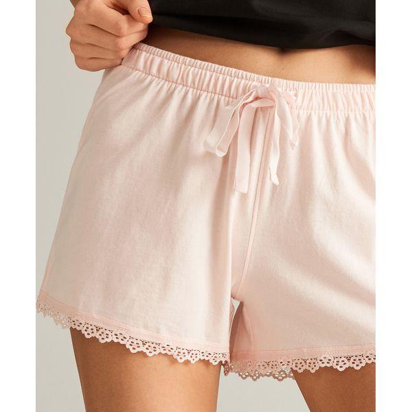 e0f6af19d934a3 Szorty od piżamy 2 pack - Różowy - Piżamy damskie Reserved. W ...
