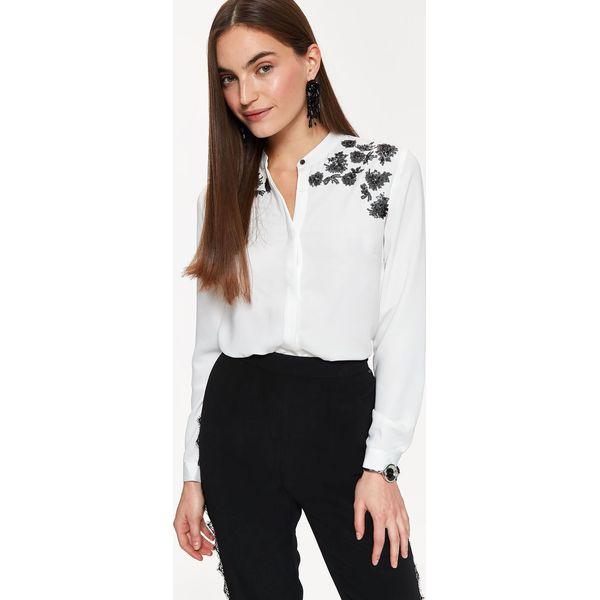Bardzo dobry ELEGANCKA KOSZULA Z BŁYSKIEM - Koszule damskie marki TOP SECRET. W XT27