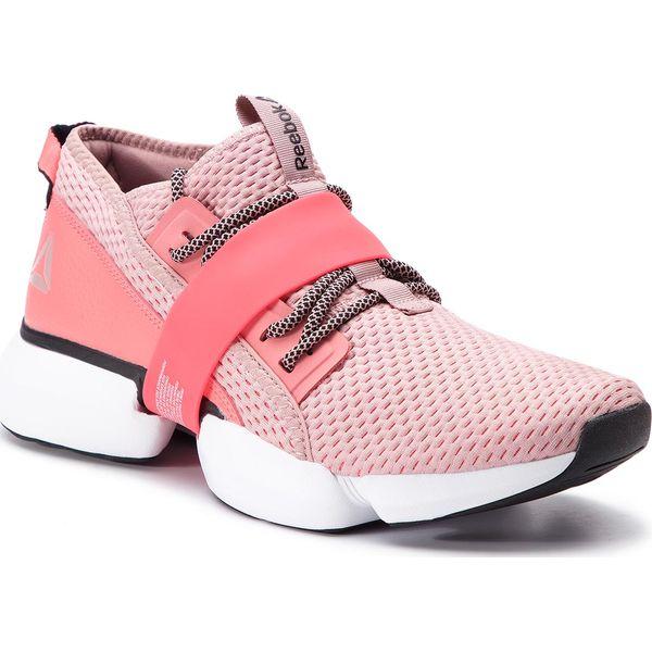 Różowe Buty adidas Cloudfoam Lite Flex W AW4203 Czerwone