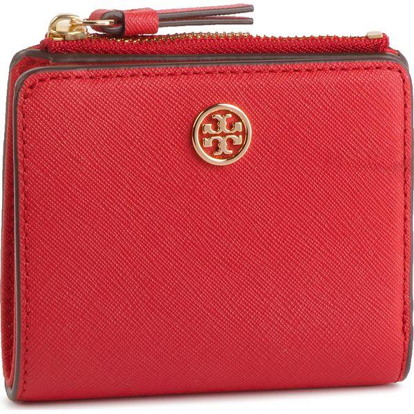 6d6cf8238250c Mały Portfel Damski TORY BURCH - Robbinson Mini Wallet 54449 ...