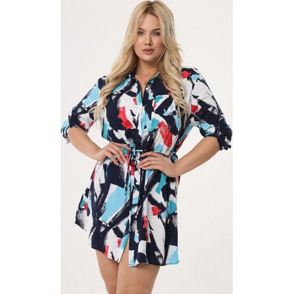 e912310058 Niebieska Sukienka Congregation - Niebieskie sukienki damskie marki ...
