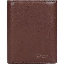 7d1f20d8734e7 Brązowy portfel męski. Portfele męskie marki Kazar. W wyprzedaży za 173.00  zł.