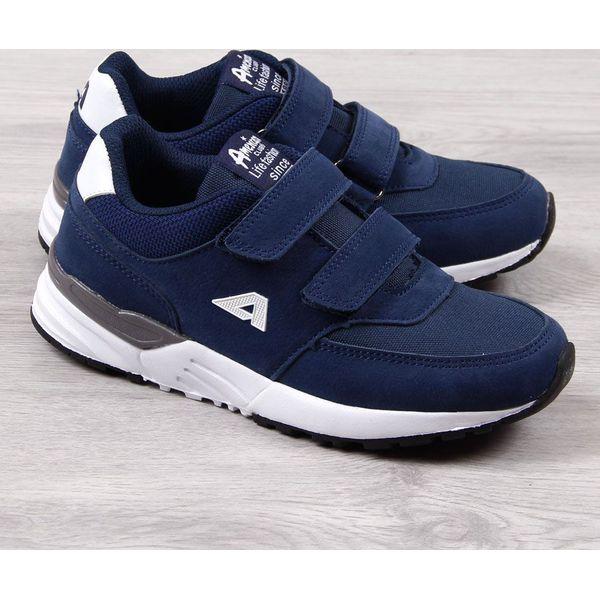 Buty sportowe chłopięce granatowe American Club 32