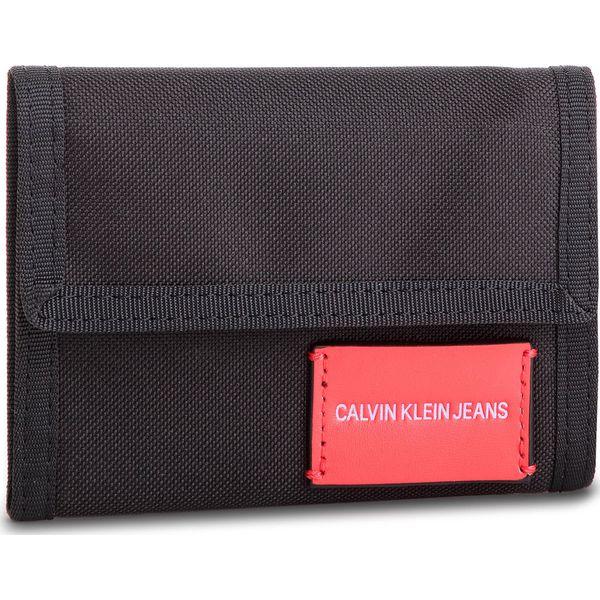 681984011ed6d Duży Portfel Męski CALVIN KLEIN JEANS - Sp Essential + Canvas ...